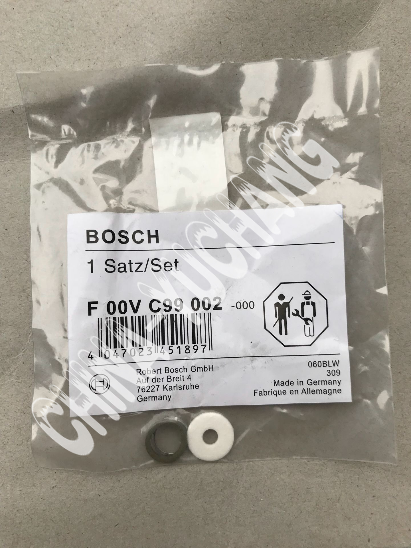 Original bosch gasket repair kit F00VC99002